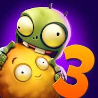 تحميل لعبة Plants vs Zombies 3 مهكرة لـ اندرويد